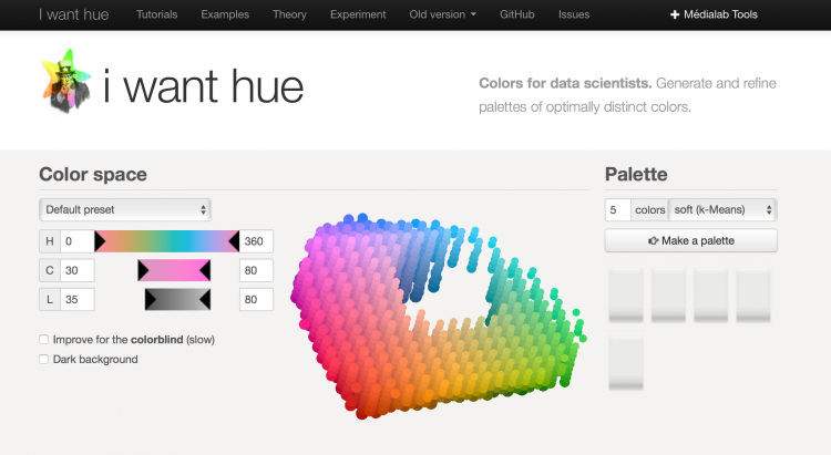 I Want Hue - choosing the perfect colour palette