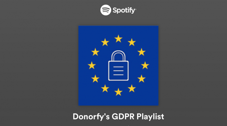 Some serious data tunes - The GDPR Playlist