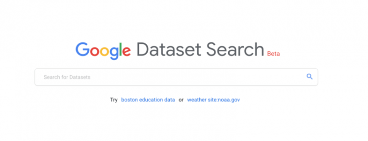 Datasearch Google