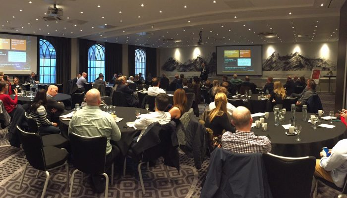 Delegates at the Cognos User Group