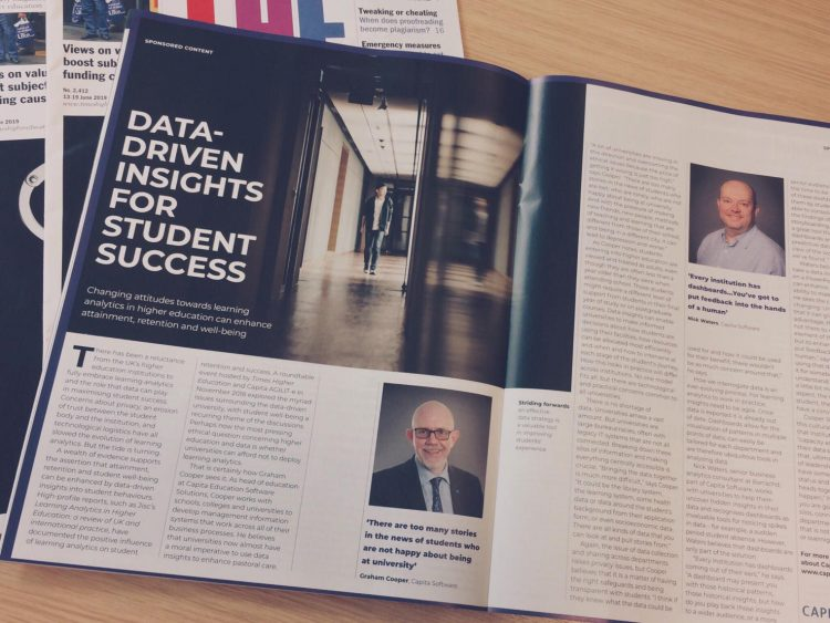 Data-driven insights for student success - Times Higher education
